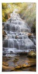 Springtime At Benton Falls Bath Towel