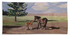 Springtime Foal Hand Towel