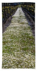 Springtime In The Vineyards Hand Towel