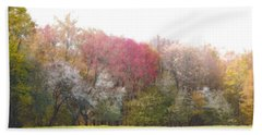 Bath Towel featuring the photograph Springtime Trees In Bloom  by Brooke T Ryan