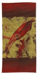 Squid Hand Towel