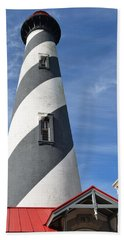 St. Augustine Lighthouse Bath Towel by Richard Bryce and Family