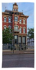 St. Charles Odd Fellows Hall Built In 1878 Dsc00810  Hand Towel by Greg Kluempers