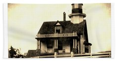 St. Croix Island Lighthouse Bath Towel