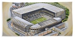 St  James Park - Newcastle United Hand Towel