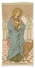 St John The Evangelist Bath Towel