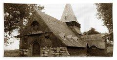 St. Johns Chapel Del Monte Monterey California 1895 Bath Towel