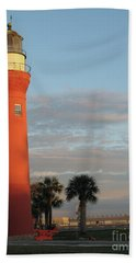 St. Johns River Lighthouse II Hand Towel by Christiane Schulze Art And Photography