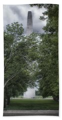 Bath Towel featuring the photograph St Louis Arch by Lynn Geoffroy