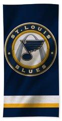 St Louis Blues Uniform Bath Towel
