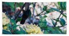St. Lucian Hummingbird Hand Towel