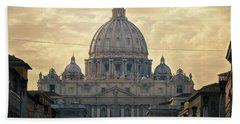 St Peter's Afternoon Glow Bath Towel