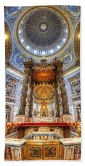 St Peter's Basilica Hand Towel