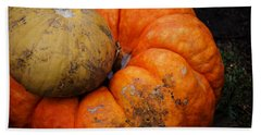 Stacked Pumpkins Bath Towel