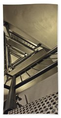 Hand Towel featuring the photograph Stairing Up The Spinnaker Tower by Terri Waters