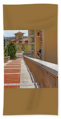 Stairway In Monaco French Riviera Bath Towel