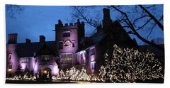 Stan Hywet Hall And Gardens Christmas  Bath Towel