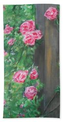 Bath Towel featuring the painting Stand By Me by Jane  See