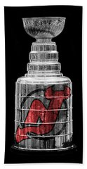 Stanley Cup New Jersey Hand Towel