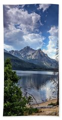 Stanley Lake View Hand Towel