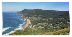 Stanwell Park Panorama Bath Towel