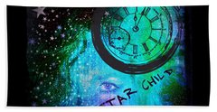 Star Child - Time To Go Home Bath Towel