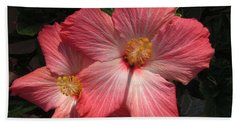 Star Flower Bath Towel by Barbara Griffin