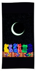 Star Gazers Hand Towel