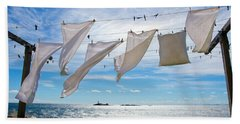 Star Island Clothesline Bath Towel