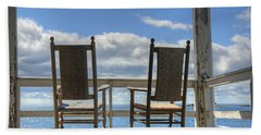 Star Island Rocking Chairs Hand Towel