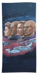 Star Trek Tribute Captains Bath Towel by Bryan Bustard