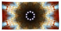Starburst Galaxy M82 I Hand Towel