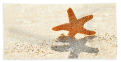 Starfish Bath Towel by Art Block Collections