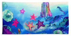 Starfish Play Bath Towel
