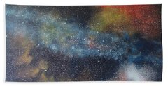 Stargasm Hand Towel by Sean Connolly
