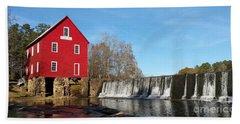 Starr's Mill In Senioa Georgia Hand Towel