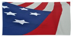 Stars And Stripes Hand Towel
