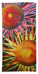 Stars With Colors Hand Towel by Chrisann Ellis