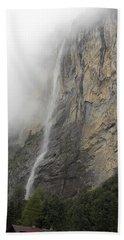 Staubbach Falls Bath Towel