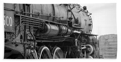 Steam Locomotive 1519 - Bw 02 Hand Towel