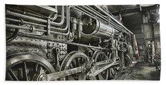 Steam Locomotive 2141 Hand Towel