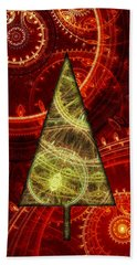 Steam Punk Christmas 1 Bath Towel