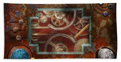 Steampunk - Pandora's Box Hand Towel
