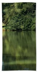 Steele Creek Park Reflections Hand Towel