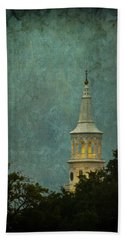 Steeple In A Storm Hand Towel