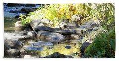 Stepping Stones Bath Towel by Sheri Keith