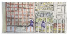 Nyu Stern School Of Business Bath Towel
