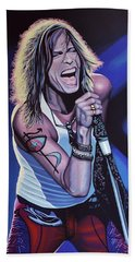 Steven Tyler 3 Hand Towel by Paul Meijering