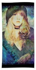 Stevie Nicks - Beret Bath Towel