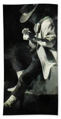 Stevie Ray Hand Towel
